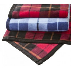 plaid en polaire